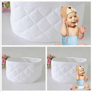 3 6pcs baby infant newborn cotton belly umbilical cord care warm protector wh. Black Bedroom Furniture Sets. Home Design Ideas