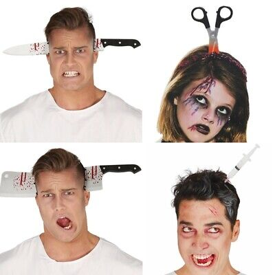 Horror Headbands Scary Knife Halloween Decoration Props Halloween Accessories