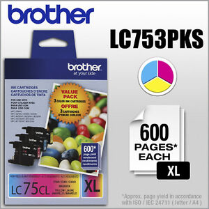 Brother Value Pack 3 Colour Ink Cartridges
