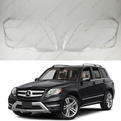 Mercedes GLK X204 OEM Scheinwerfergläser Scheinwerferglas Plastik Cover (Paar)