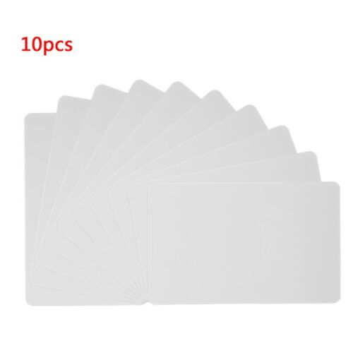 10 Pcs RFID Tag 13.56MHz Contactless IC Cards PVC Access Control Attendance Card