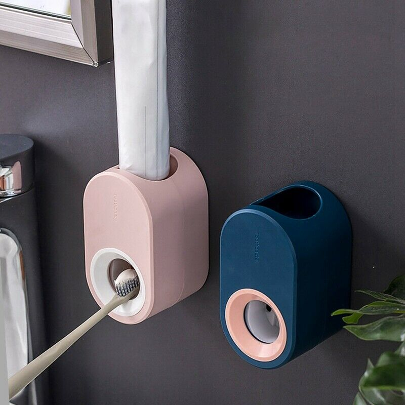 Smart Device Automatic Toothpaste Squeezer Dispenser Toothbrush Holder Extrusion
