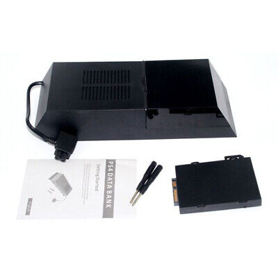 Data Bank 2TB Hard Drive External Box For PS4 Internal Memory More Durable