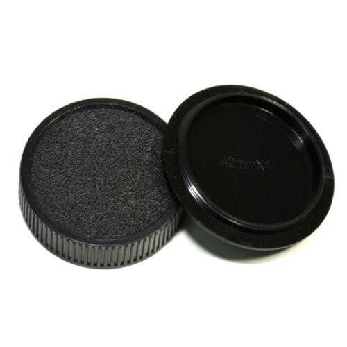 2pcs 42mm Plastic Front Rear Cap Cover For M42 Digital Camera Body And Lens F1Q6 - $6.88