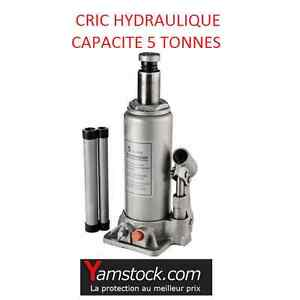 cric bouteille 5 tonnes hydraulique pour voiture camping car ebay. Black Bedroom Furniture Sets. Home Design Ideas