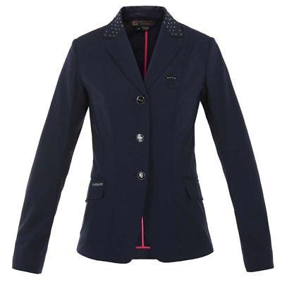 Kingsland Alma Ladies Softshell Competition Show Jacket Peacoat Blue 38 UK 12