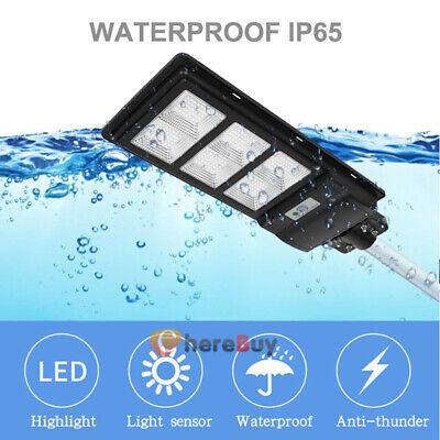 990000lm 90w Led Solar Outdoor Street Light Motion Sensor Road Lamp Ip67 Remote
