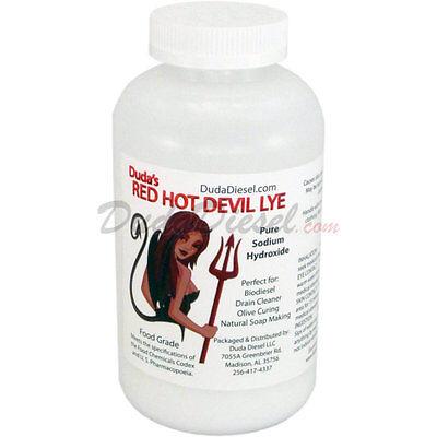 Sodium Hydroxide Red Hot Devil Lye Food Chemical Codex Biodiesel Soap Naoh Grade