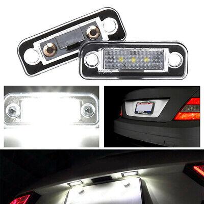 2 Stk LED Kennzeichenbeleuchtung W203 W211 W219 R171 (Passt für: Mercedes-Benz)