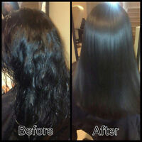 Smoothing organic  Keratin treatment