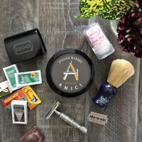 Unique Groomsmen Gifts - Traditional Wet Shaving Kits