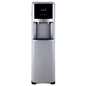 Primo Pro-Select Bottom-Load Hot and Cold Water Dispenser, Silve