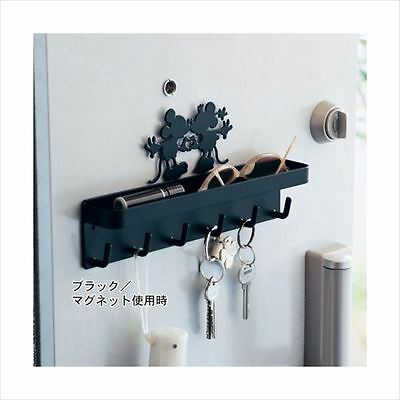 Disney Magnetic Key Hook with Holder Tray from JAPAN F/S