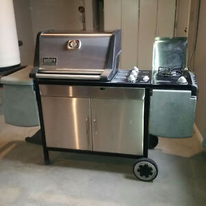 STAINLESS STEEL BARBECUE
