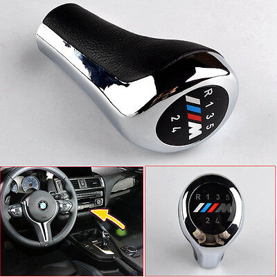 5 Speed BMW Gear Shift Knob Head Leather M Sport 3 SERIES E36 E39 E46 E90 E91