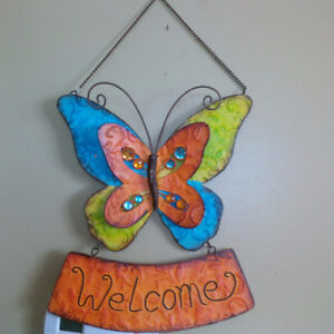 Welcome Sign for Door or Gate