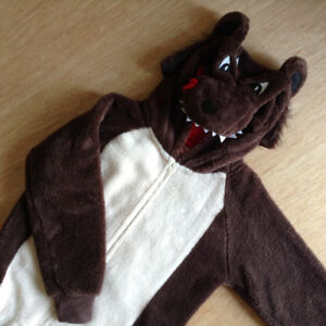 One-Piece Halloween Bear Costume