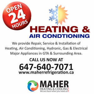 Heating,Cooling,Gas Stove,Water Tank,Furnace,Repair,Service,Duct
