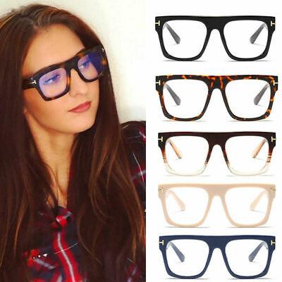 Big Frame Square Glasses Oversized Optical Frames Women Mens Myopia (Oversized Spectacle Frames)