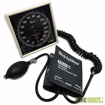 Tycos Aneroid Welch Allyn Wall Sphygmomanometer Blood Pressure Unit