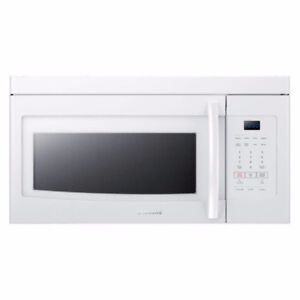 BRAND NEW OVER THE RANGE MICROWAVE-SAMSUNG