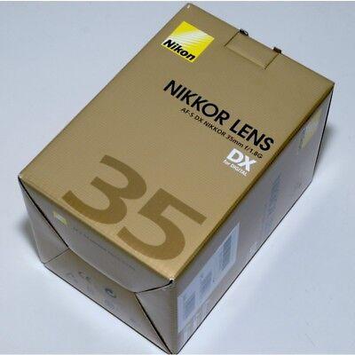Nikon AF-S DX NIKKOR 35mm f/1.8G Objektiv F1.8 G NEU!
