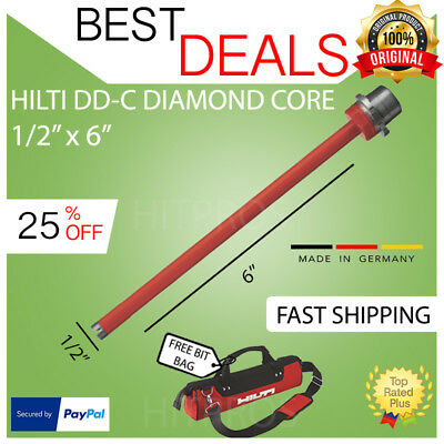 Hilti Diamond Core Bit Dd-c 12 X 6 T4 New Strong Fast Shipping