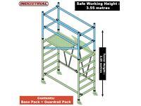 Jefferson KIT-JEFT99-1.55 T99 Combined Base & Guardrail Mini Scaffold Tower