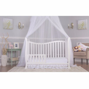 Dream On Me Violet 7 in 1 Convertible Life Style Crib, White Cambridge Kitchener Area image 5