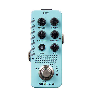 MOOER E7 Polyphonic Synth Electric Guitar Effect Pedal SYNTH Tones 7 Types UK