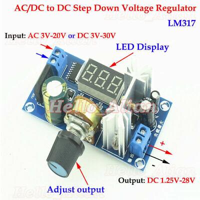Acdc To Dc Buck Adjustable Step Down Volt Converter 3.3v 5v 12v 24v Regulator