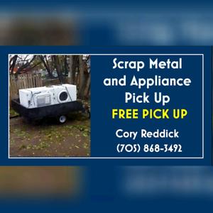 Free Scrap Metal Pick Up/Dump Runs