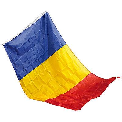 derflagge Rumänien 150 x 90 cm aus reißfestem Nylon (Nylon Flagge)