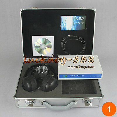 8 Languages 3d Nls Cell Sub Health Analyzer Magnetic Resonance Quantum Analyzer