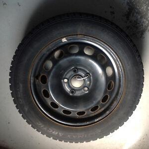 VW OEM steel Rims & hub caps