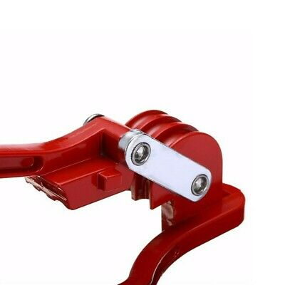 266cm Manual Hand Pipe Bender Red 14 - 58 Bending Copper Tube Durable Pipe