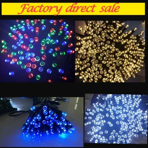 100 LED 17M Solar Powered Fairy String Lights Garden Christmas Outdoor Indoor