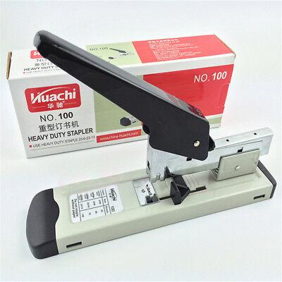 Heavy Duty Metal Stapler Bookbinding Stapling 120sheet Capacity For Office Home