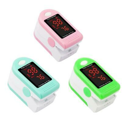 New Fingertip Pulse Oximeter Oxymeter Spo2 Pr Pi Monitor Led Display Wlanyard