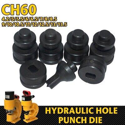 1 Set Round Hydraulic Hole Punch Die for CH-60 Hydraulic Punching Machine 1 Round Hole Die