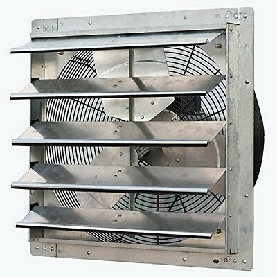 iLiving ILG8SF20V  20 Inch Variable Speed Shutter Exhaust Fan, Wall-Mounted New