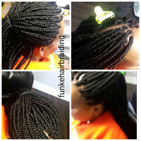 Affordable prices !! Box Braids, Weave, Crochet, Cornrows e.t.c
