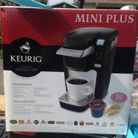Brand new keurig machine