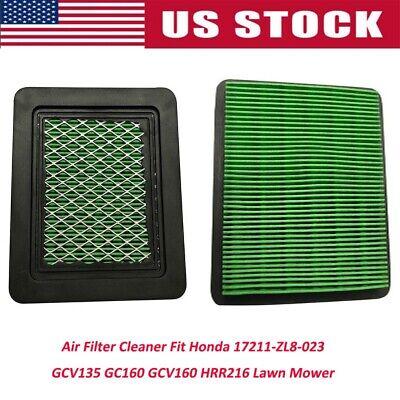 2x Air Filter Cleaner Fit Honda. 17211-ZL8-023 GC160 GCV160