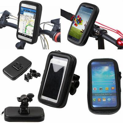SUPPORTO PORTA CELLULARE SMARTPHONE IMPERMEABILE BICI MOTO UNIVERSALE WATERPROOF