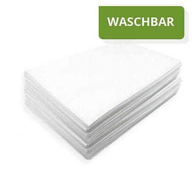 10 Stück Vlieslaken 100x200cm SOFT Waschfaserlaken Waschvlieslaken waschbar
