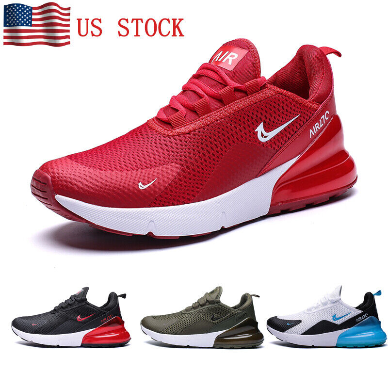 Men's Flyknit Sneakers Air Cushion Tennis Shoes Casual Athle