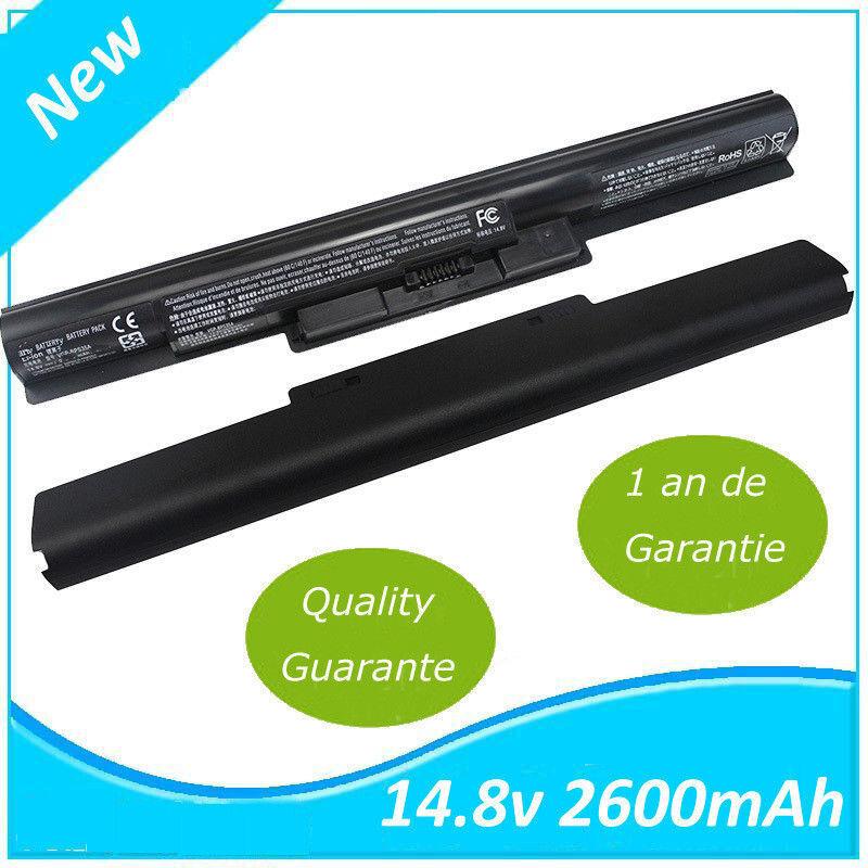 Image Laptop Batterie Noir 14.8V 2600MAH pour Sony VGP-BPS35 VGP-BPS35A