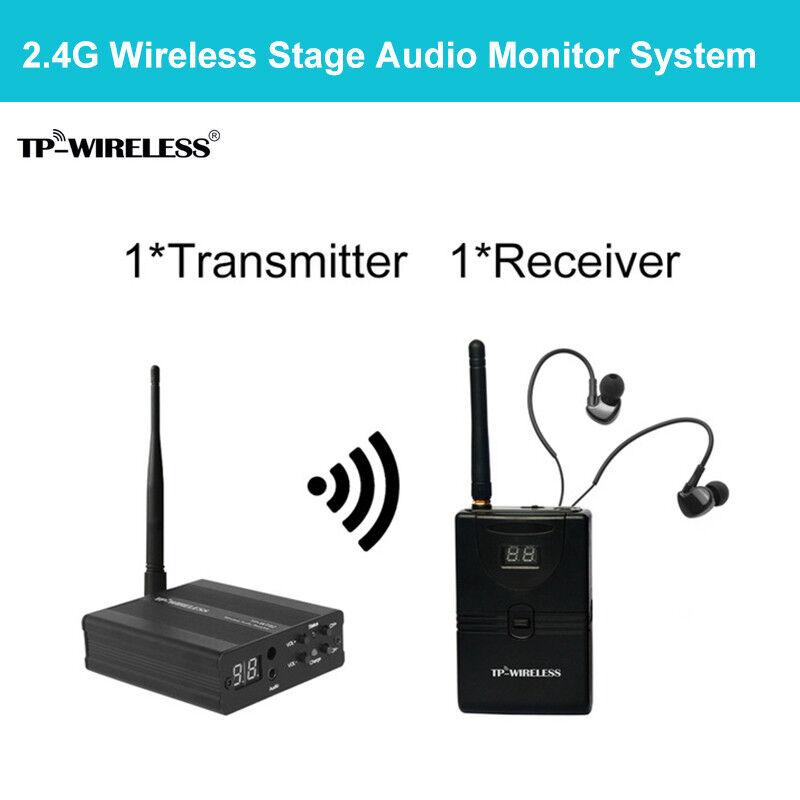 TP-WIRELESS Digitales In-Ear-Audio-Monitorsystem Sender Empfänger Ear Return