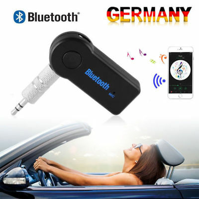 Portable Car AUX Receiver 3.0 Bluetooth Music Audio Stereo Adapter Speaker MP3